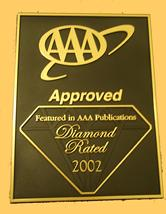 AAA one diamond motel in Hollywood
