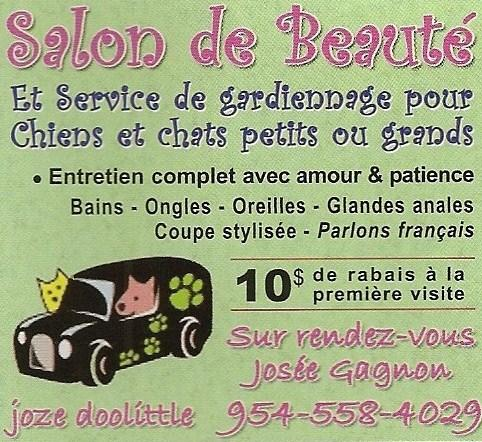salon de beaute josee gagnon jaze doolittle