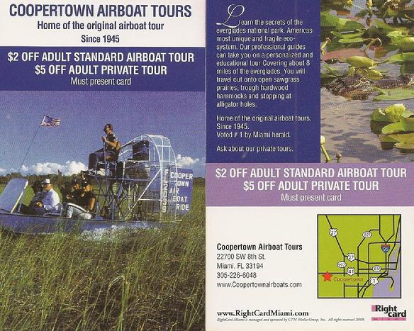 Copertown Airboat