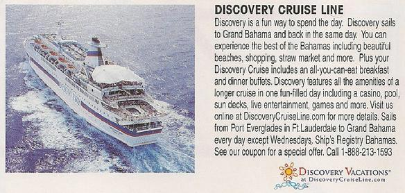 Discovery Cruise Line