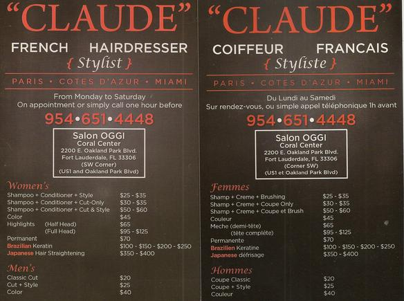 French Coiffeur Hollywood
