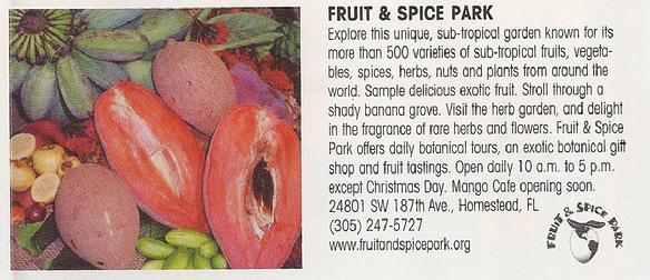Fruit Spice Park