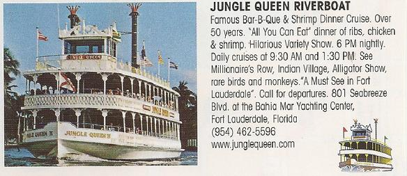 Jungle Queen River Boat