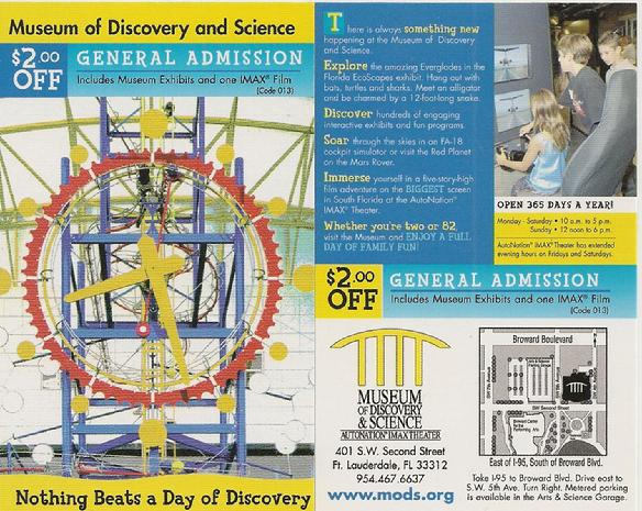 Museum discovery and science Miami