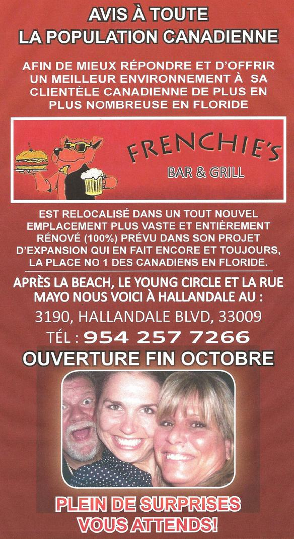 Frenchie's Bar and Grill