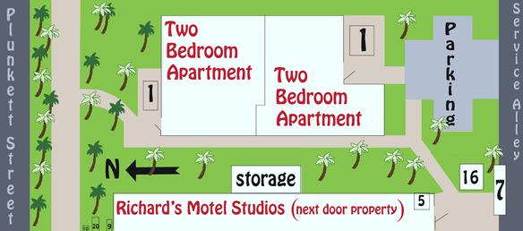 Richard's Apartments Layout