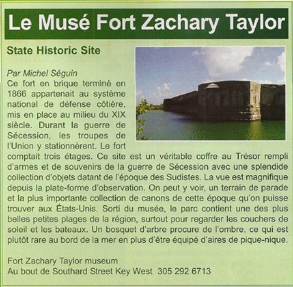 muse fort zachary taylor