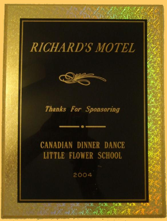 Richard's Motel Achievement